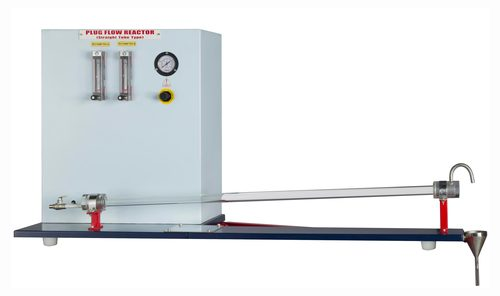 PLUG FLOW TUBULAR REACTOR (Straight Tube Type) - Peristaltic Pump Feed System
