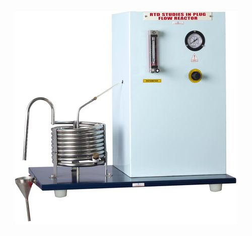 R.T.D. STUDIES IN PLUG FLOW TUBULAR REACTOR (Coiled Tube Type) - Peristaltic Pump Feed System