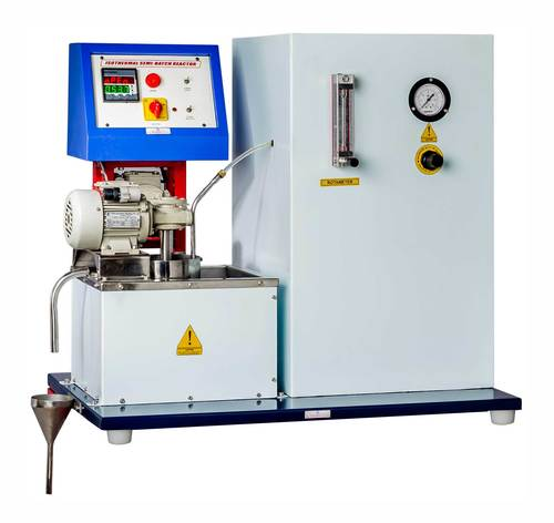 ISOTHERMAL SEMI-BATCH REACTOR - Peristaltic Pump Feed System