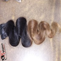 Ombre color Body wave Human Hair Extension