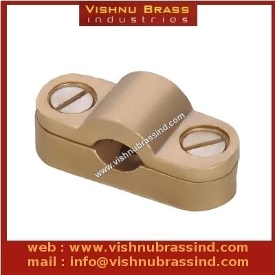 Brass Heavy Duty Cast Cable Saddle