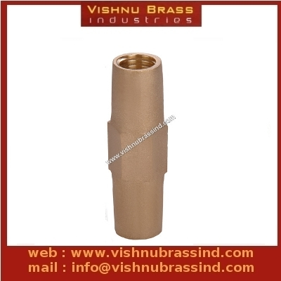 Brass Earth Rod Coupler