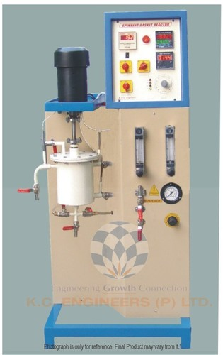 SPINNING BASKET REACTOR - Compressed Air Feed System