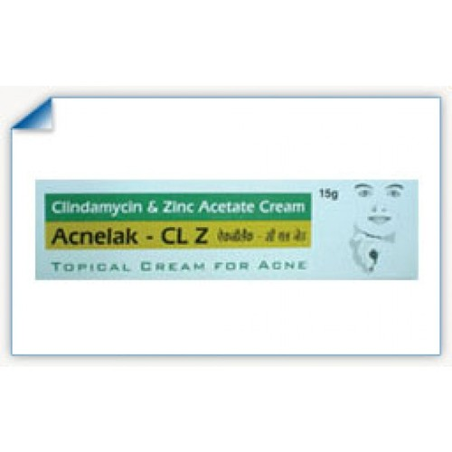 Acnelak CL Z Cream 15gm Gel - Clindamycin and Zinc Acetate