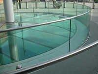 GLASS RAILINGS / PARAPETS / BALUSTRADES