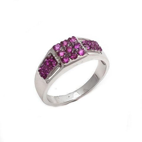 Ruby  Gemstone Men's Ring