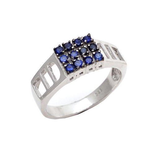 Natural Sapphire Fine Gemstone Men's Rings