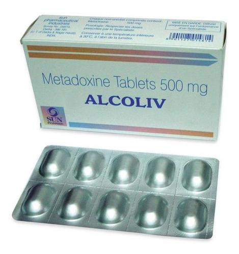 Alcoliv 500mg - Metadoxine