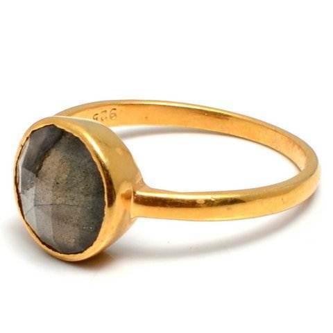Labradorite Gemstone Ring