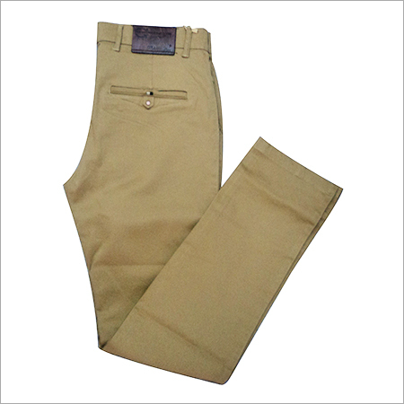 Cotton Straight Fit Trouser
