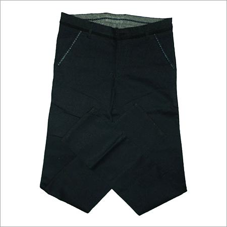 Plain Green Cotton Trouser
