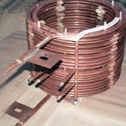 Inductor Coil Skin Hardening of Steel Rolls