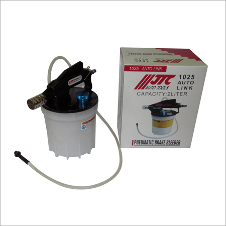 Pneumatic Brake Fluid Bleeder