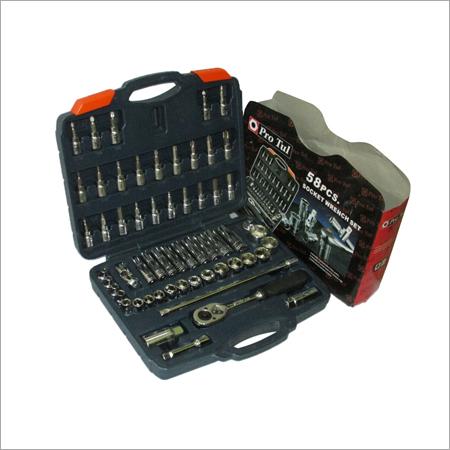 58 Pcs Socket Wrench Set