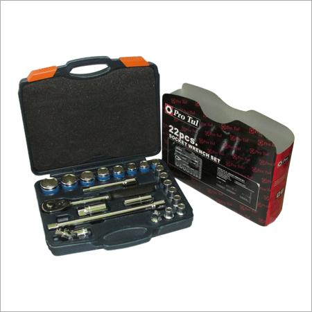 22 Pcs Socket Wrench Set