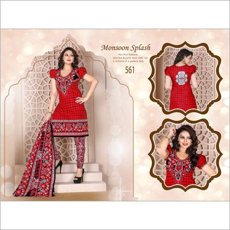 Red Queen Dress Materials
