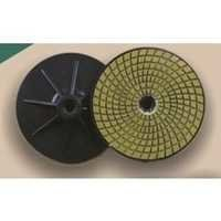 Round Pad With Grinder Nut