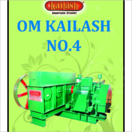 Om Kailash No.4 Super Deluxe Sugarcane Crusher