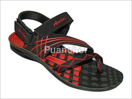 Colored Pu Gents Sandal