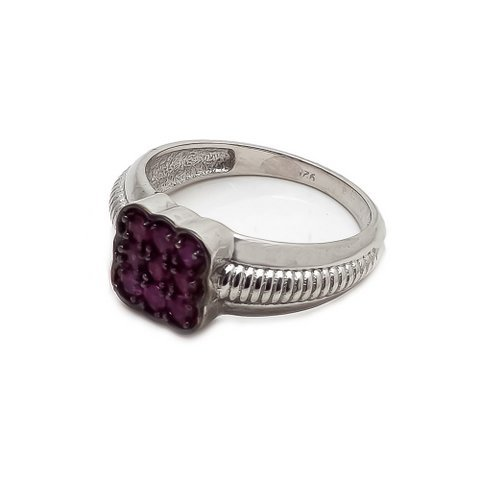 Natural Ruby Gemstone Unique Designer Mens ring