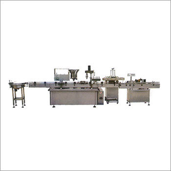 Filling Capping Induction Labeling Machine