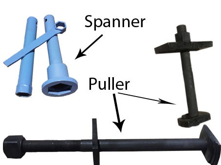 Mud Pump Spanner And Puller