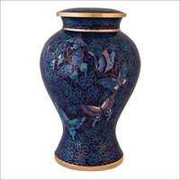 Cloisonne Cremation Urn