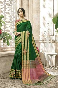 multicolor cotton sarees