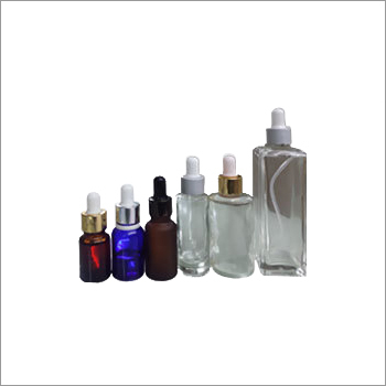 Cosmetic Colored Glass Bottles