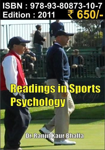 Readings in Sports Psychology