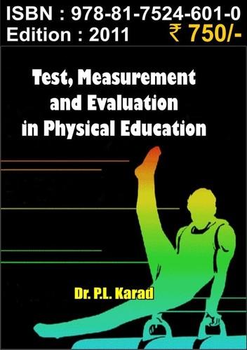 Measurement & Evaluation inPhysical Education