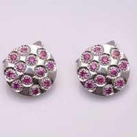 Natural Garnet Gemstone Whole Sale Fashion Jewellery Mens Cufflinks
