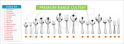 Spoons, Fork & Knife