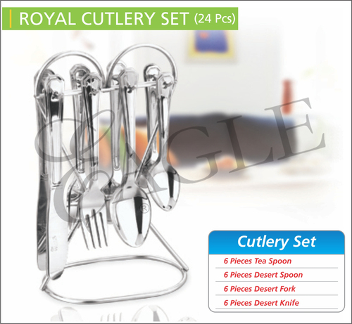 Royal Cutlery Set (24Pcs)