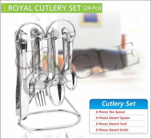 Royal Cutlery Set (24Pcs)