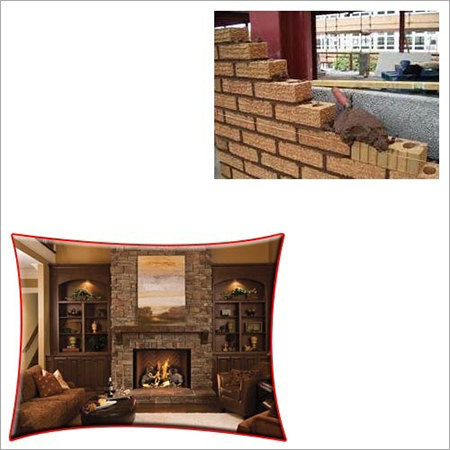 Brick Mortar for Fireplaces