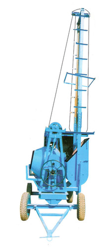 Mixture machine with lift up to 100 ft