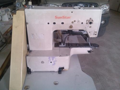 SunStar Brand Bartack Sewing Machine