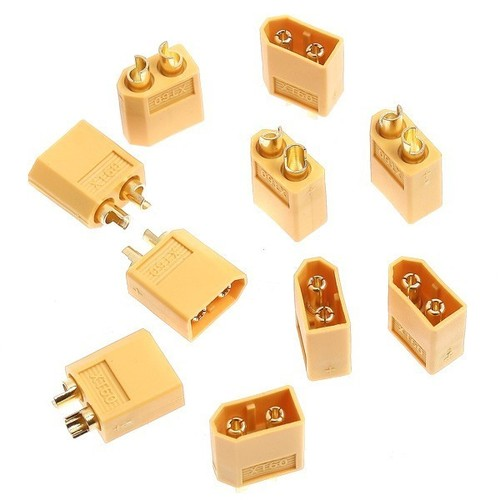male female battery connectors