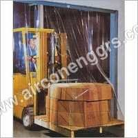 PVC Strip Curtain Set