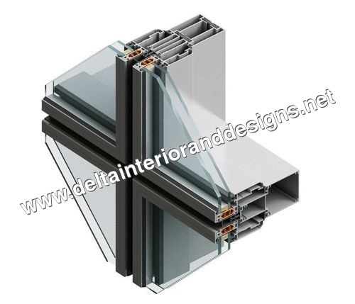 Semi Unitized Structural Glazing System