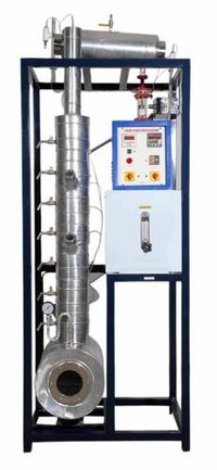 SIEVE PLATE DISTILLATION COLUMN