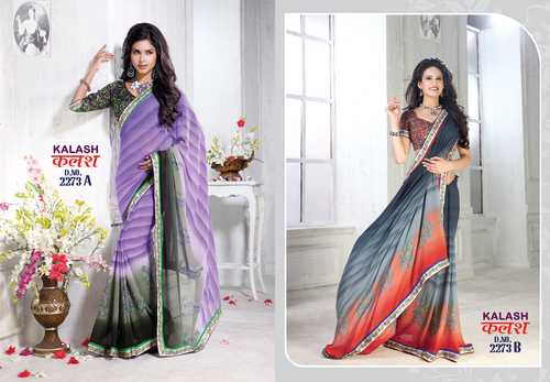 New Printed Designer Saree