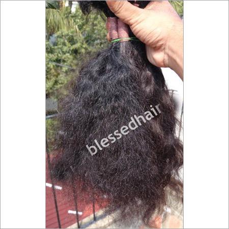 Curly Bulk Human Hair