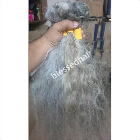Natural White Bulk Hair