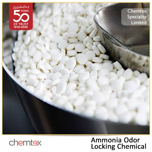 Ammonia Odor Locking Chemical