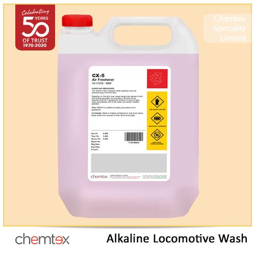 Alkaline Locomotive Wash