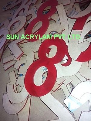 Acrylic Numbers