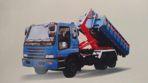 Hook Loader Garbage Truck