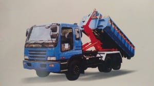 Hook Loader Garbage Truck